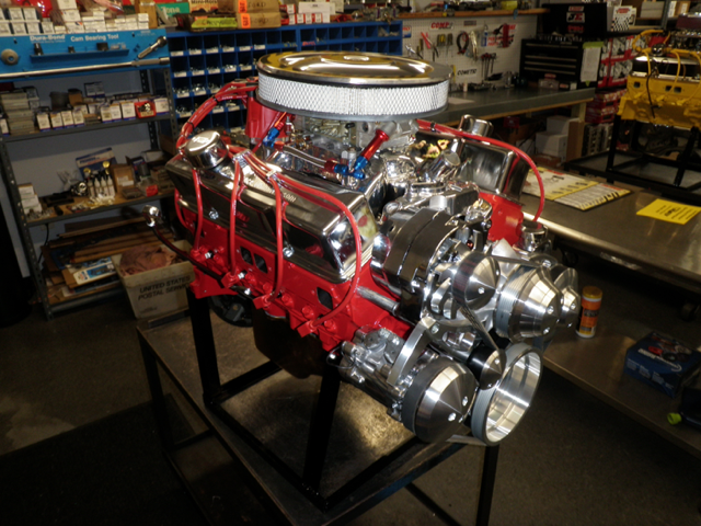 Chevy Turn Key Crate Engine With Hp on Small Block Chevy Crate Engines
