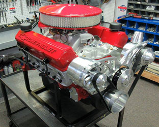 on 350 crate engine 400 hp