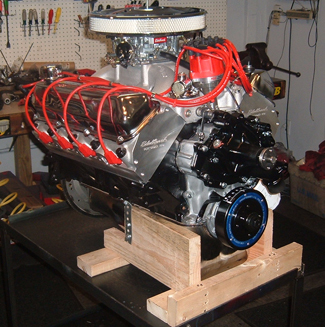 Ford Stroker Crate Engine on Small Block Chevy Crate Engines