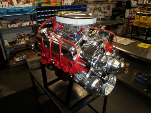 350 Chevy Turn-Key Crate Engine With 350hp
