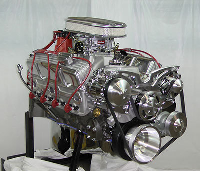 350 Chevy Turn-Key Crate Engine With 400HP