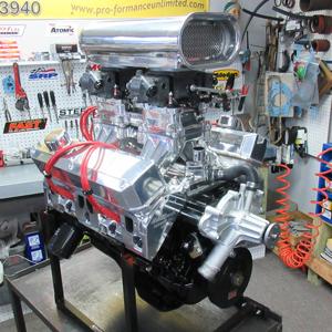 Mopar performance crate engine 408ci small black stroker 500hp malvernweather Images