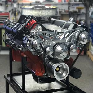500CI Big Block Chrysler Stroker Engine 525HP • Proformance