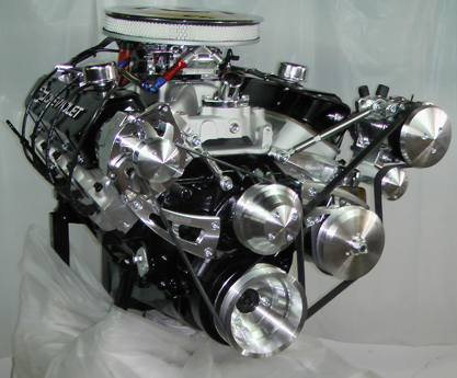 Big Block Chevy 454 Chevy Turn-Key Crate Engine With 500 HP