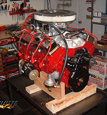 350 350hp small block chevy crate engine proformance unlimited inc. Black Bedroom Furniture Sets. Home Design Ideas