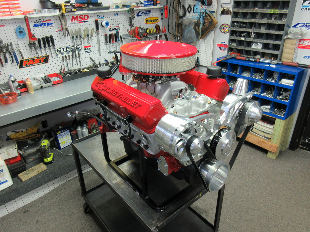 Chevy 383 400HP Crate Engine