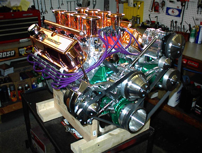 Custom Ford Engine