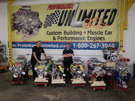 Crate engines muscle car engines chevy and ford for Builders unlimited