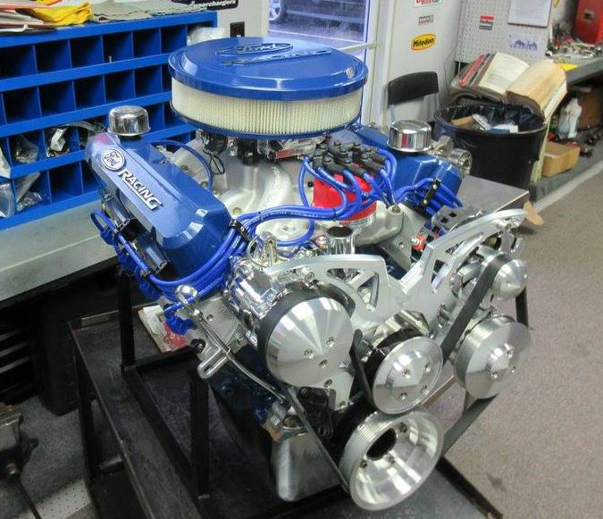 How to build a small block ford stroker | Building Ford