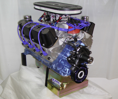 ford sbf crate engine engines motor turn key complete windsor 427ci stroker 351w fuel 427w injected 427 302 575hp hp