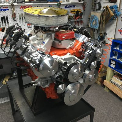 Ls Ci Hp Carbureted X on Chevy 383 Fuel Injected Crate Engine