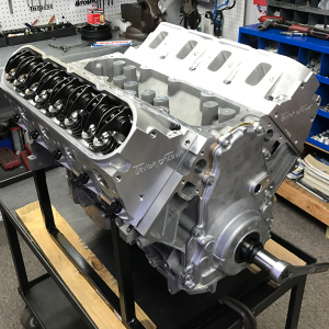 Ls Long Block X on Chevy 383 Fuel Injected Crate Engine