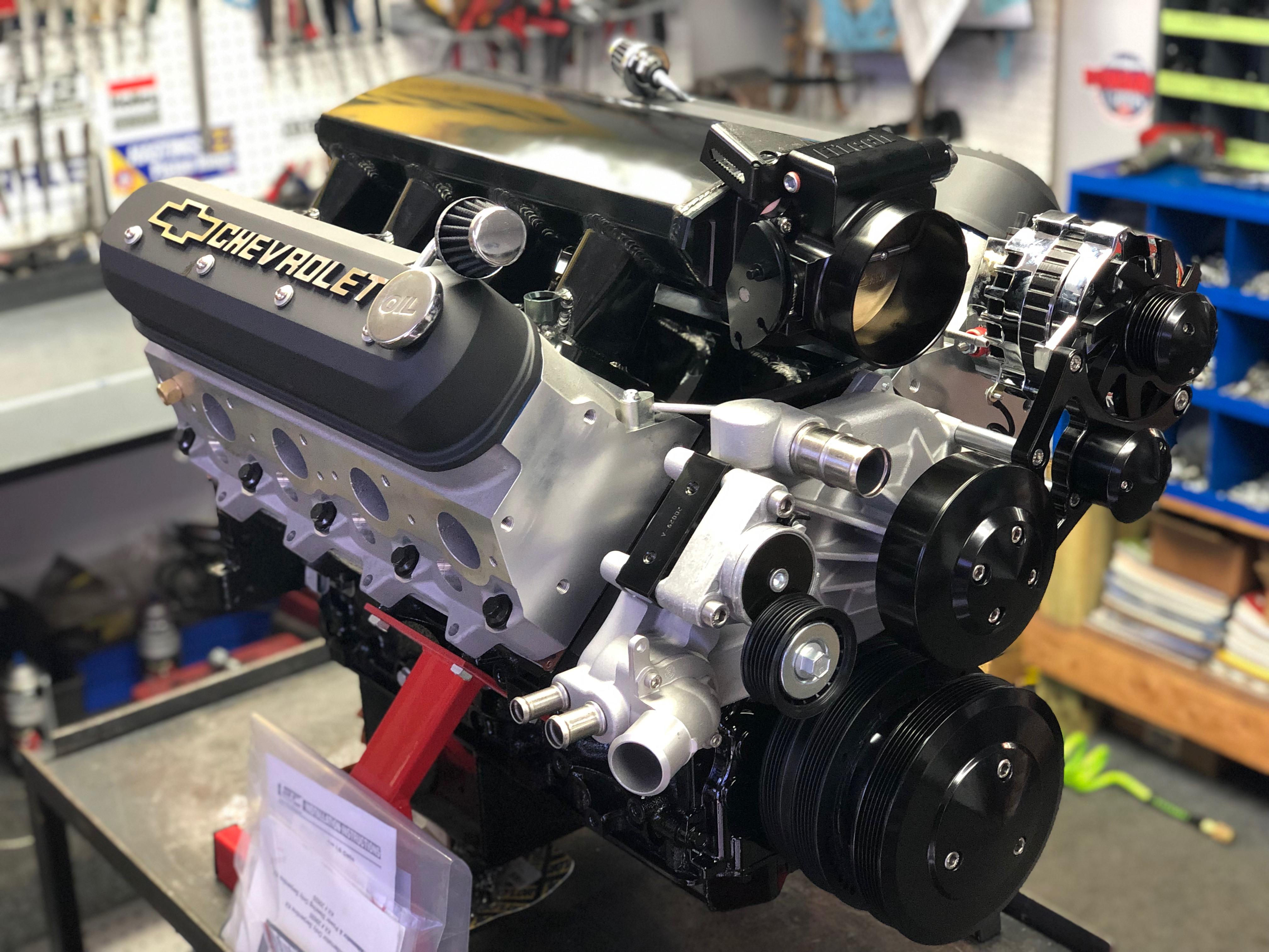 Ls7 441ci 700hp Crate Engine