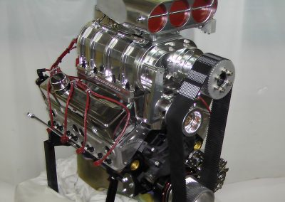 Chevy 383 SuperCharged crate engine