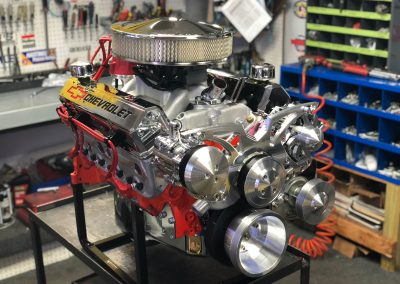 Chevy 383 EFI crate engine