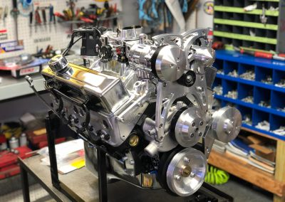 Chevy 383 stroker engine