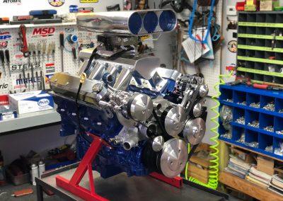 LS 416 crate engine