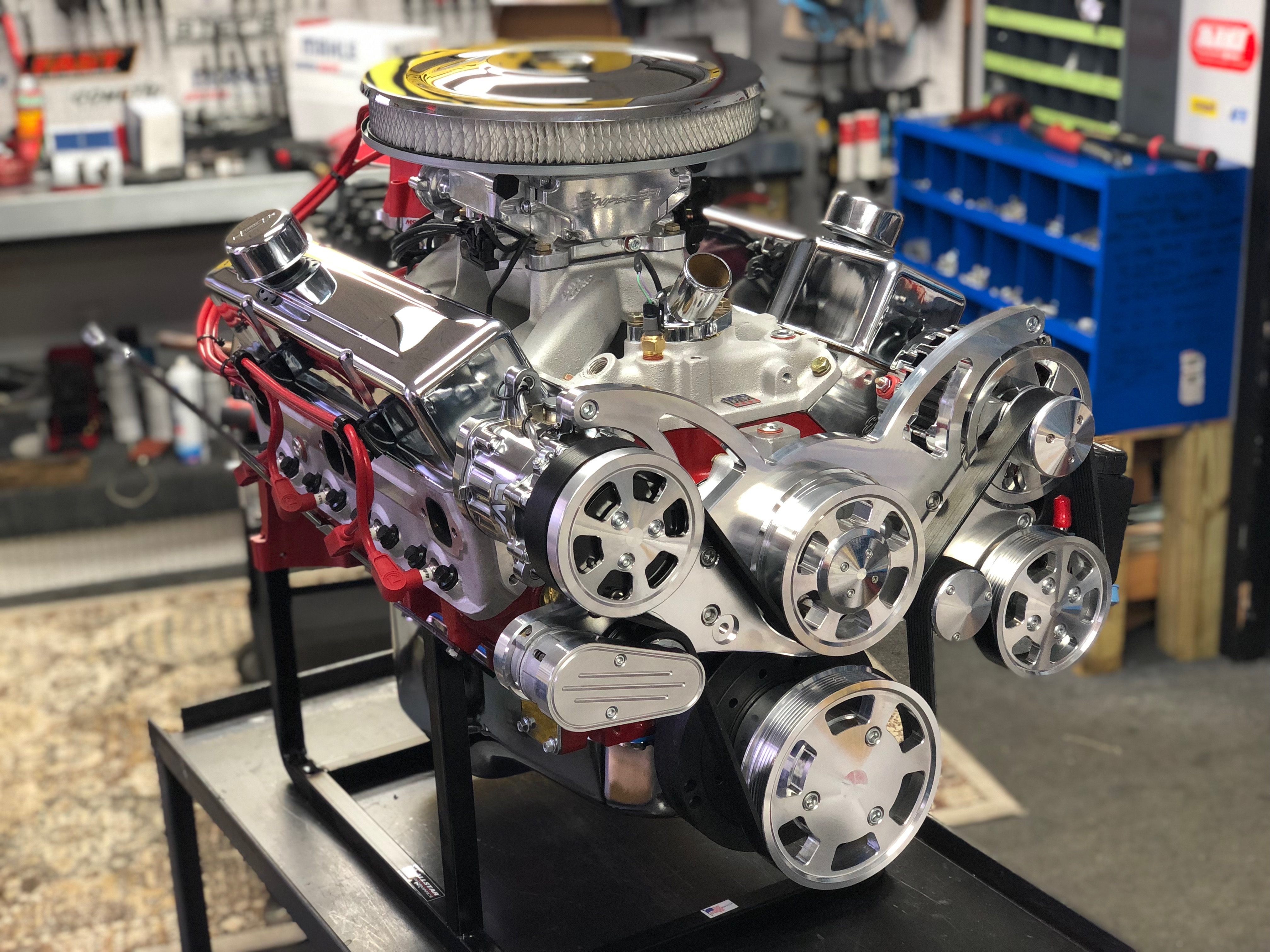 383 Chevy Stroker Crate Engine 450HP - For Your Hot Rod